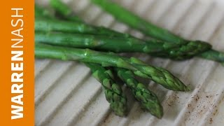 How To Cook Asparagus - Grilling, Steaming & Microwaving - Cooking Tips By Warren Nash