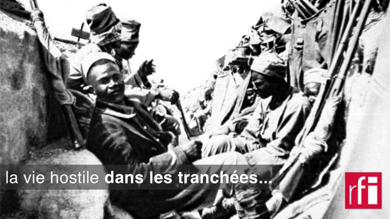 Le Sacrifice Des Tirailleurs Senegalais Sur Le Chemin Des Dames Youtube