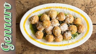 Fried Polpatini With Ricotta & Basil | Gennaro Contaldo