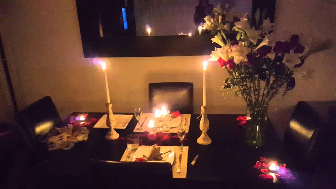 Cena rom ntica con chef y mozo para mi amor aniversario - Detalles para cena romantica ...