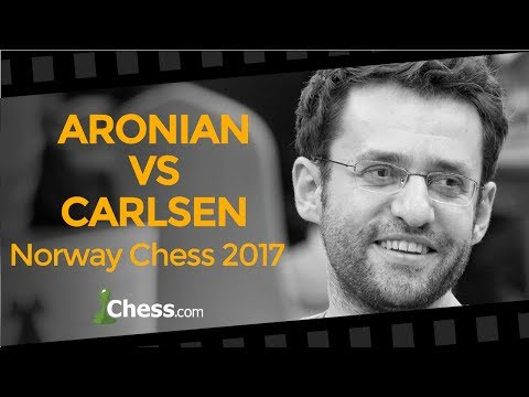Levon Aronian's Brilliant Victory Over Magnus Carlsen