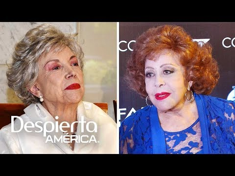 Silvia Pinal nunca tuvo buena relación con Evangelina Elizondo
