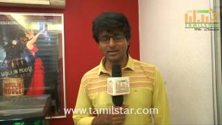 Sivakarthikeyan At Rajinimurugan Movie Press Show
