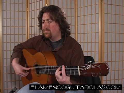 Etude No  16 Flamenco Guitar Class