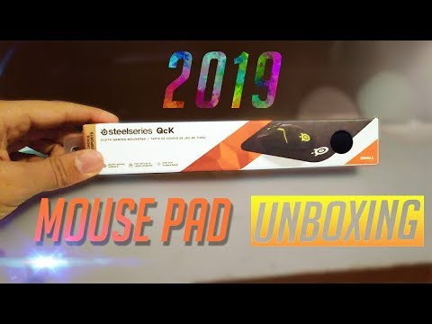 Steelseries QcK UNBOXING 2019!