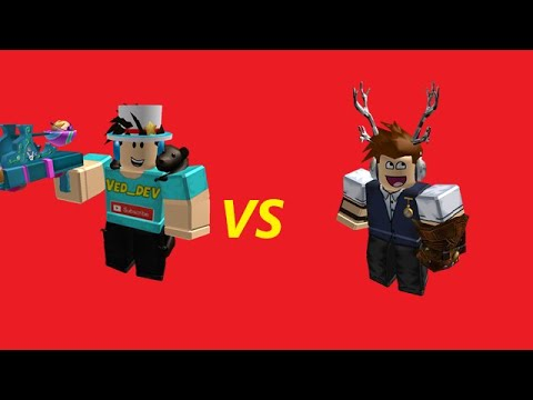 Ved_Dev​ VS Conor3D Part.1​(roblox​ Animations)​