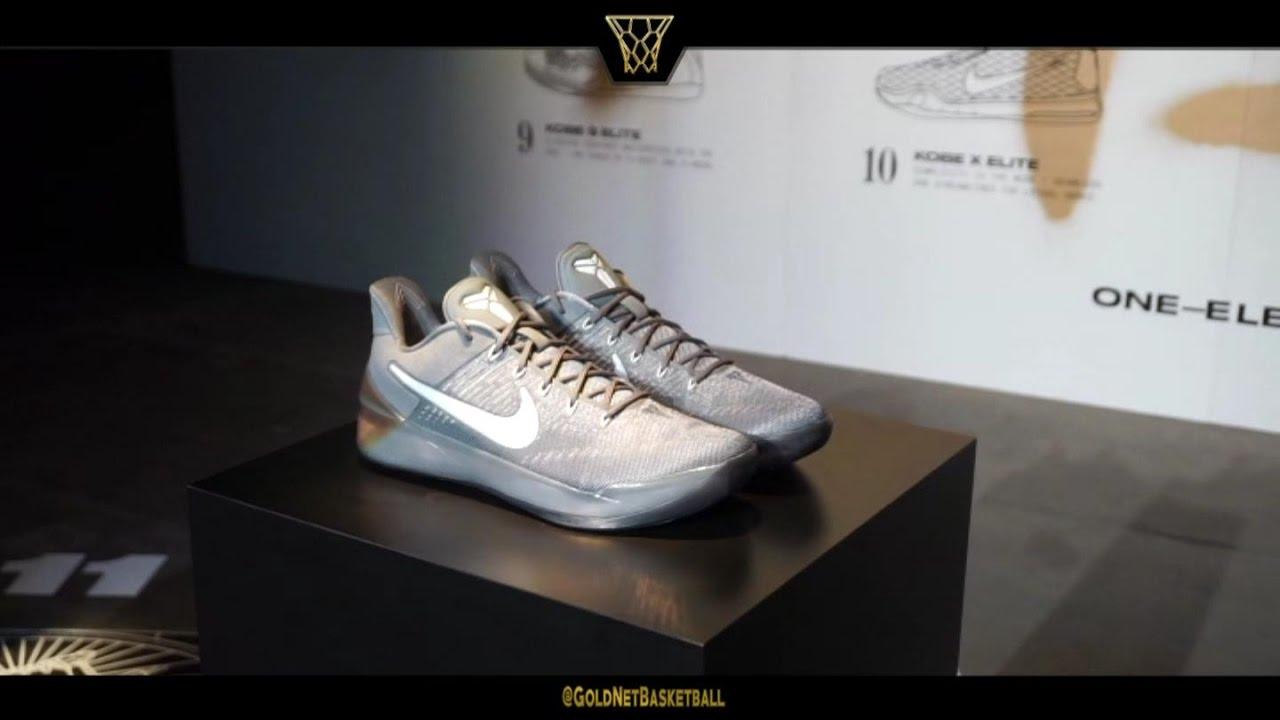 Kobe Bryant Releases Nike Kobe A.D. (Kobe 12's)!! Nov 1st 2016 recap -  YouTube