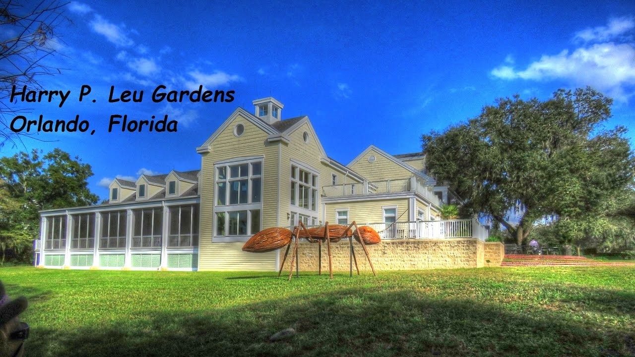 harry p leu gardens orlando florida youtube
