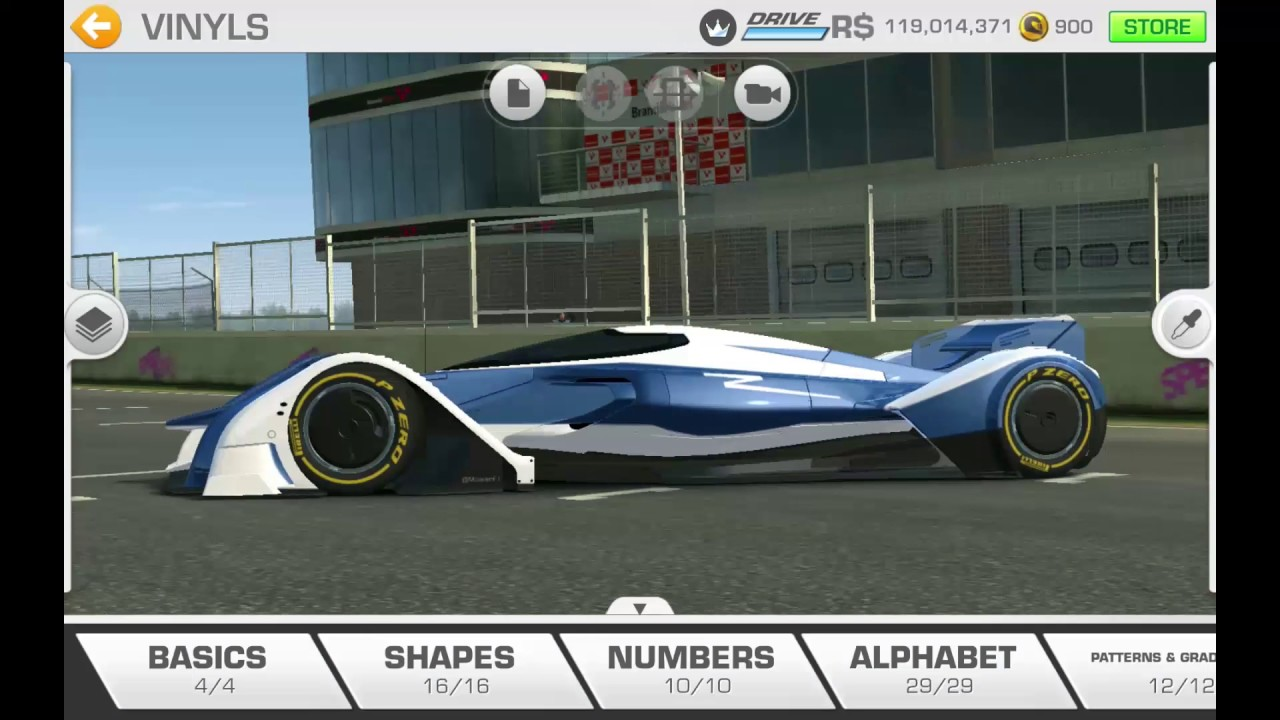 Real racing 3 custom mclaren mp4 x formula future rr3