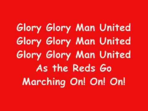 Glory Glory Man United karaoke.flv