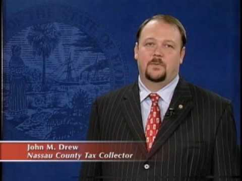 John M. Drew - Tax Collector Nassau County