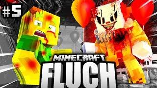 DER CLOWN REDET mit MIR?! - Minecraft FLUCH #05 [Deutsch/HD]