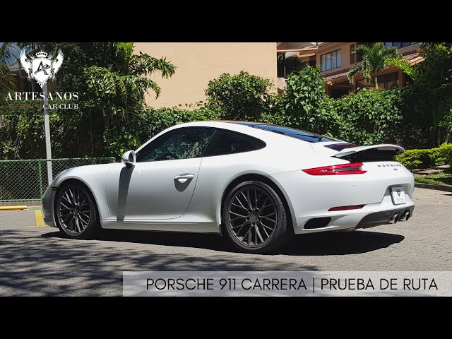 Porsche 911 Carrera 2017 | Prueba de ruta | Review en español | Artesanos Car Club