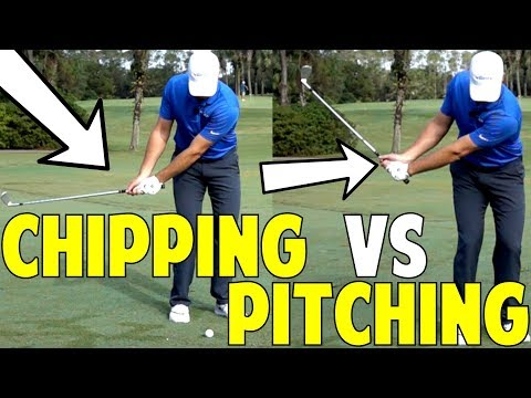 How to get better at chipping and pitching
