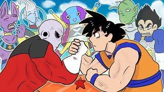 Dragon Ball Super Entire Saga in 3 Minutes! | ArcadeCloud Animation
