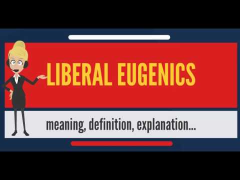 What is LIBERAL EUGENICS? What does LIBERAL EUGENICS mean? LIBERAL EUGENICS meaning & explanation