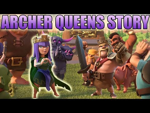 How did the Archer Become the Archer Queen? The Story of the Archer Queen   Clash of Clans Story