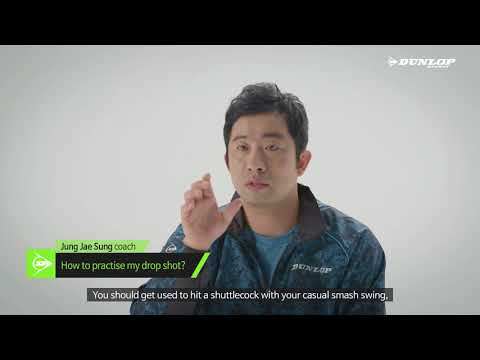 How to hit Drop shot? | Badminton Lesson with Jung Jae Sung #01