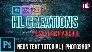 How To Make A Neon Font In Photoshop