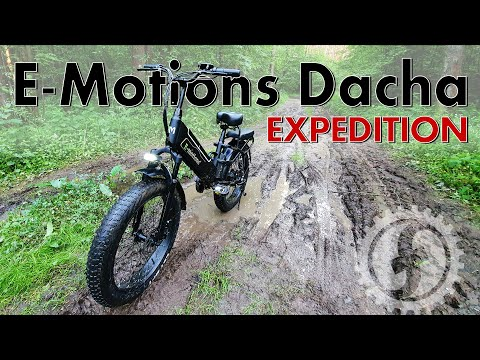 Электрофэтбайк E-motions Dacha