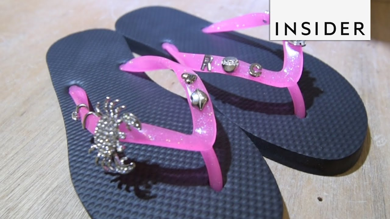 34cf120fc Create Your Own Flip Flops - YouTube