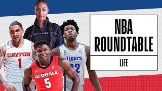 #NBADraft Prospects Catch Up With @Brittney Elena | James Wiseman, Obi Toppin, Anthony Edwards