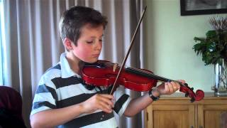 Trinity Grade 1 violin fiddlers fancy