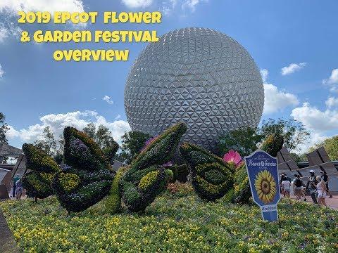 2019 Epcot Flower And Garden Festival