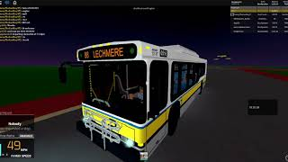 MBTA Roblox Gameplay Route 88 (AN440LF)