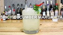 Spicy Cucumber Margarita Cocktail Recipe