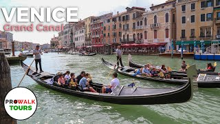 Venice, Italy - Grand Canal and Rialto Bridge Walking Tour (4K/60fps)