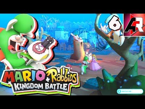 Mario + Rabbids Kingdom Battle World 3 END Live Stream | Nintendo Switch | ActionReplay Plays