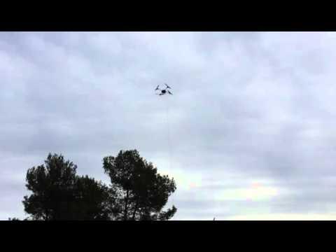 Micro UAV Novadem NX110 with NXWIRE