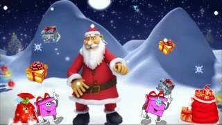 С наступающим 2018 годом! Веселое шуточное поздравление под песню 'Дед Мороз и Снегурочка'