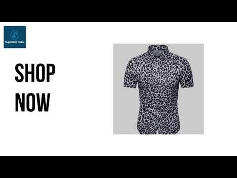 Men's Shirts - Leopard Print Shirt