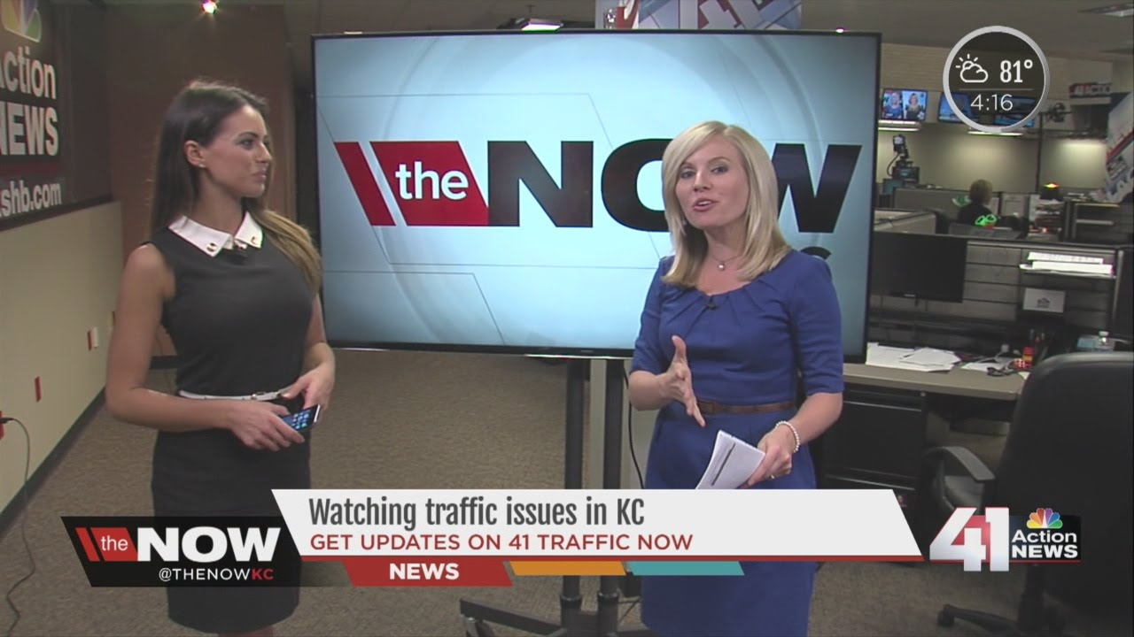 the Now KC Chats with Kacie McDonnell: 41 Action News Traffic ...