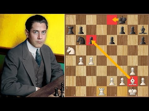 Fortune Favors The Strong | Capablanca vs Lilienthal | Moscow 1936.