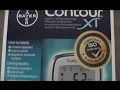 Bayer Contour XT - unboxing and testing this device