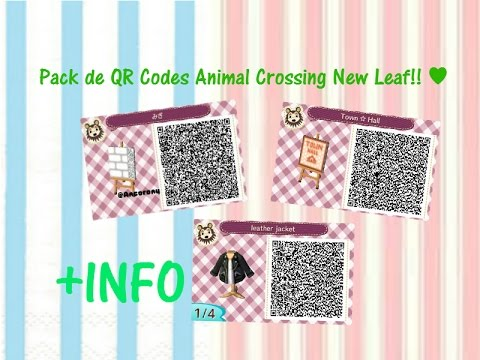 Pack De Qr Codes De Animal Crossing New Leaf Youtube
