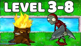Plants vs Zombies Javascript Day Pool Grass 3-8