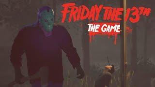 Friday The 13 The Game: Fugindo do JASON COM O JAJA #1