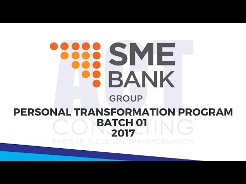 ACT Consulting - Personal Transformation Program Batch 01 (SME Bank Malaysia)
