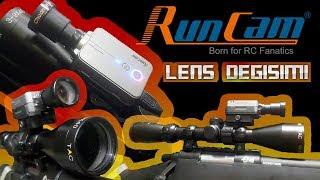 Runcam 2 Lens Değişimi | Scopecam | Snipercam