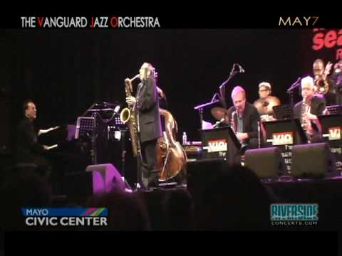 Vanguard Jazz Orchestra Coming To The Mayo Civic Center In Rochester, MN - May 7