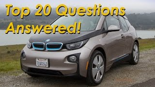 2015 BMW i3 Range Extender - Top 20 Questions Answered!!