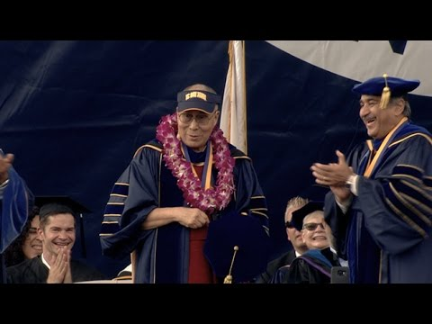 UC San Diego Commencement 2017 with the Dalai Lama