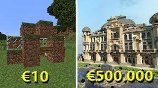 €10 HUIS VS €500.000 HUIS!