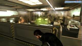You play as Adam Jensen a security specialist handpicked to oversee the defense of one of Americas most experimental biotechnology firms But when a black