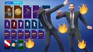 *NEW* FREE JOHN WICK REWARDS + OUTFIT! (Fortnite Battle Royale)