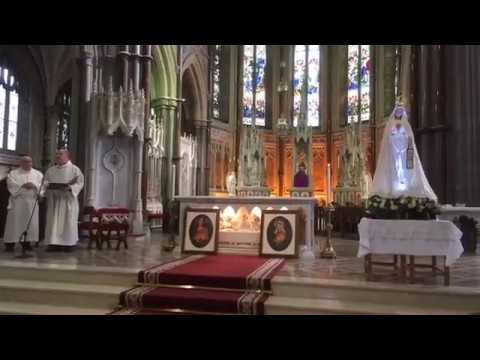 Facebook Live Recording: Arrival of the Fatima Centenary Pilgrim statue to Newry Cathedral